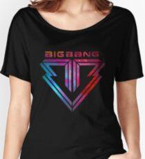 Camiseta ancha Big Bang - smokey