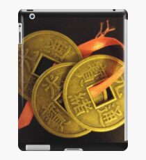 Lucky I-Ching Coins iPad Case/Skin