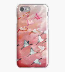 100 Birds in flight (2) iPhone Case/Skin