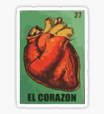 El Corazon aka The heart  Sticker