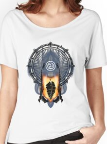 Buddha On Fire Women's Relaxed Fit T-Shirt