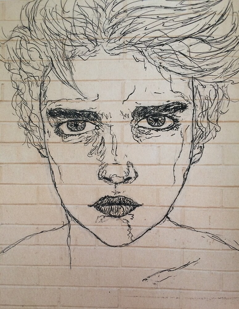 "Boy And Girl Sketch Tumblr ""Tumblr Boy Drawi..."