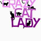 Crazy cat lady by digerati