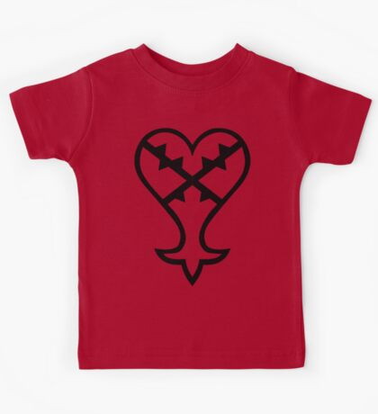 Heartless Logo (Black) - Kingdom Hearts Kids Clothes