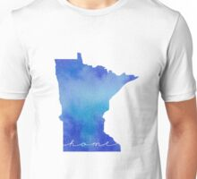 Minnesota watercolor home Unisex T-Shirt