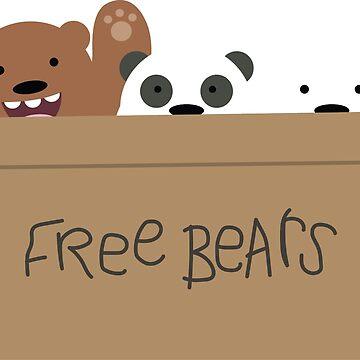 Free Bears by darthnebers