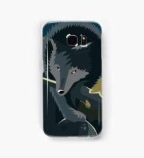 Sif, the Great Grey Wolf Samsung Galaxy Case/Skin
