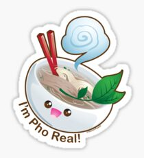 Cute Pho Real Sticker