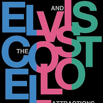 Elvis Costello (Black) by CaptainBaloney
