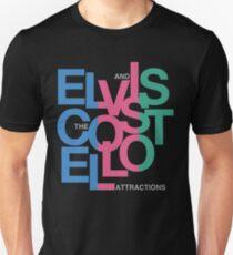 Elvis Costello (Black) Unisex T-Shirt