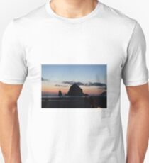 Haystack Rock at Cannon Beach, OR T-Shirt