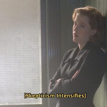 Oh, Scully. by morelikekelly
