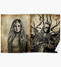 Clarke and Lexa (Clexa) Poster