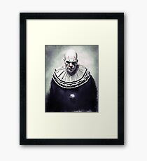 Puddles Pity Party Framed Print