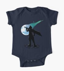 Cloud and the Meteor - Final Fantasy VII Kids Clothes
