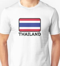 National flag of Thailand Unisex T-Shirt