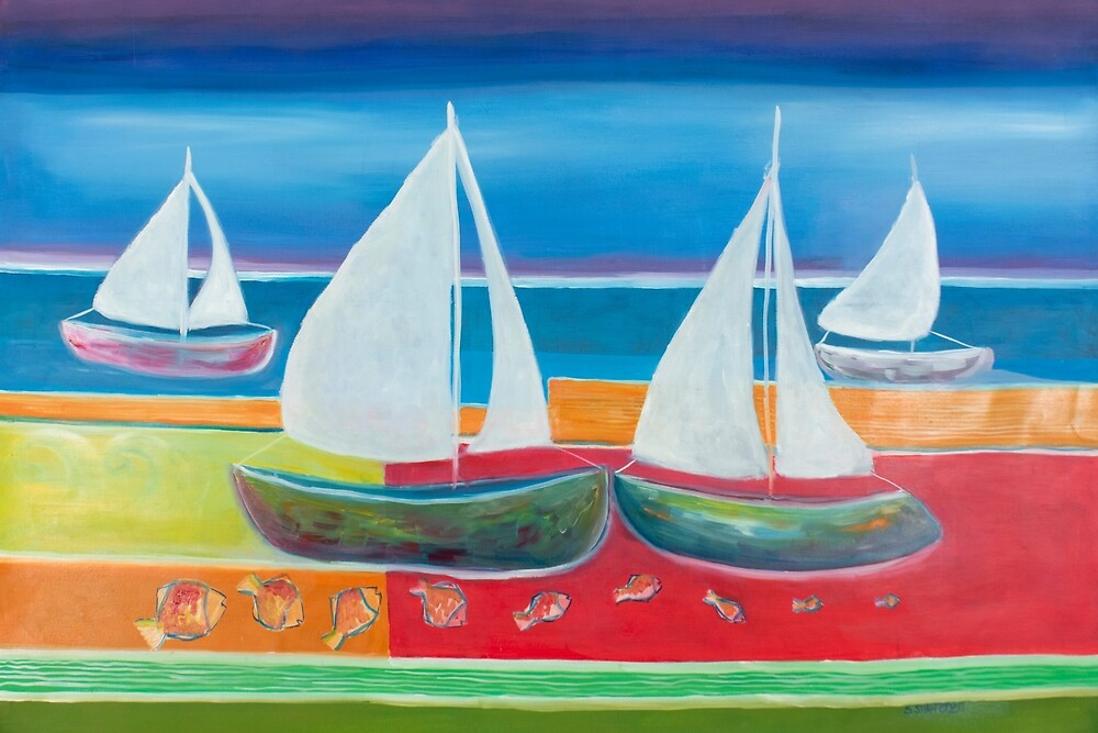 Sailing by artsyyaadie