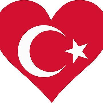 A heart for Turkey by artpolitic