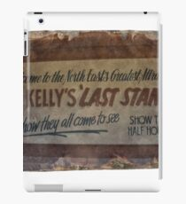 NED KELLY'S LAST STAND iPad Case/Skin