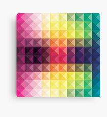 creative triangular pattern Canvas Print