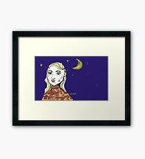 goofy star Framed Print