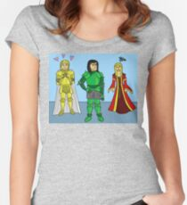 Knightly Infatuation Women's Fitted Scoop T-Shirt