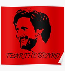 Joe Allen - Fear the Beard - Stoke City Poster