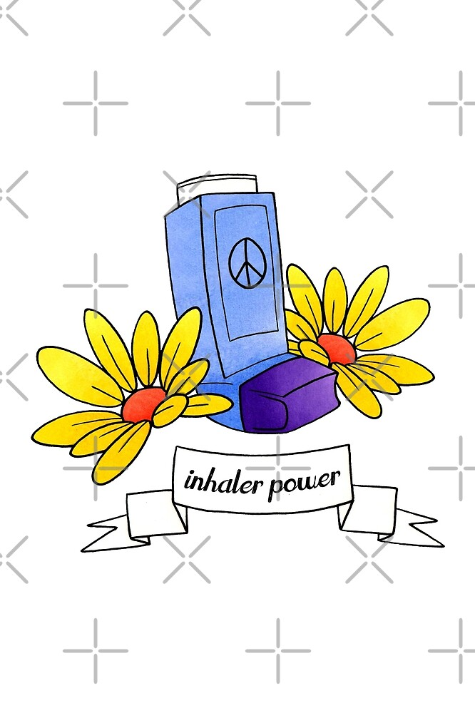 Inhaler Power! - white  by Chiara Filincieri