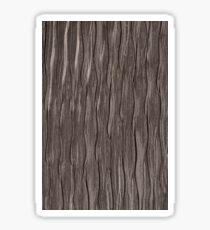 Brown fabric texture Sticker