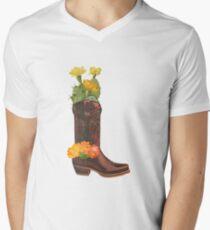 COWBOY SPIRIT Men's V-Neck T-Shirt