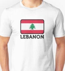National Flag of Lebanon Unisex T-Shirt