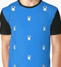 Eyelien in black Graphic T-Shirt