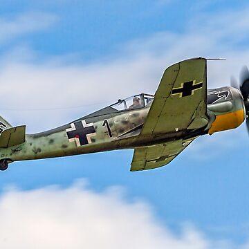 Flug Werk nachbau Fw 190A-8N F-AZZJ by oscar533