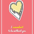 Cheesy Hearts - Camembert by sophiedoodle