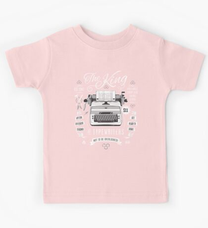 The King of Typewriters Kids Clothes