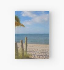 Gentle Breeze at the Beach Hardcover Journal