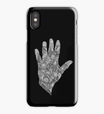 HennaHandWhite iPhone Case/Skin