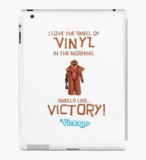 Vintage STAR WARS Vinyl Caped Jawa Kenner Style Action Figures iPad Case/Skin