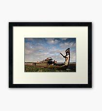 Fleetwood march Wrecks Framed Print