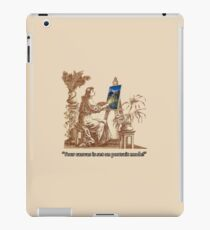 """It's on portrait!"" iPad Case/Skin"