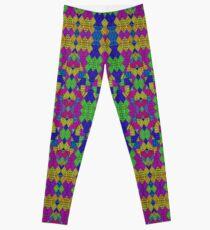 Ethnic Modern Geometric Pattern Leggings