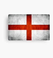 England Flag - St Georges Canvas Print