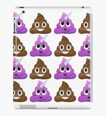 Vinilo o funda para iPad Brown y púrpura caca sonriente
