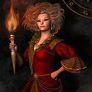 « Leo zodiac fantasy circle » par Britta Glodde