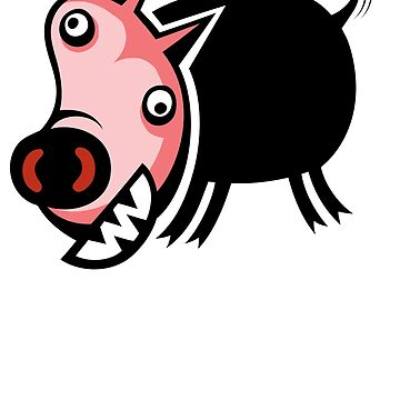 Crazy Pig by furryclown