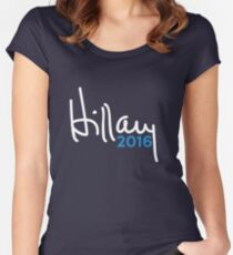 Hillary 2016 Signature Women's Fitted Scoop T-Shirt