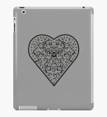 Black Iron Heart ipad iPad Case/Skin