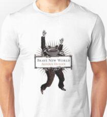Camiseta unisex Nuevo mundo valiente