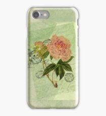 Decoupage peony 2 iPhone Case/Skin