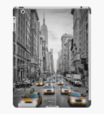 5th Avenue NYC Verkehr  iPad Case/Skin